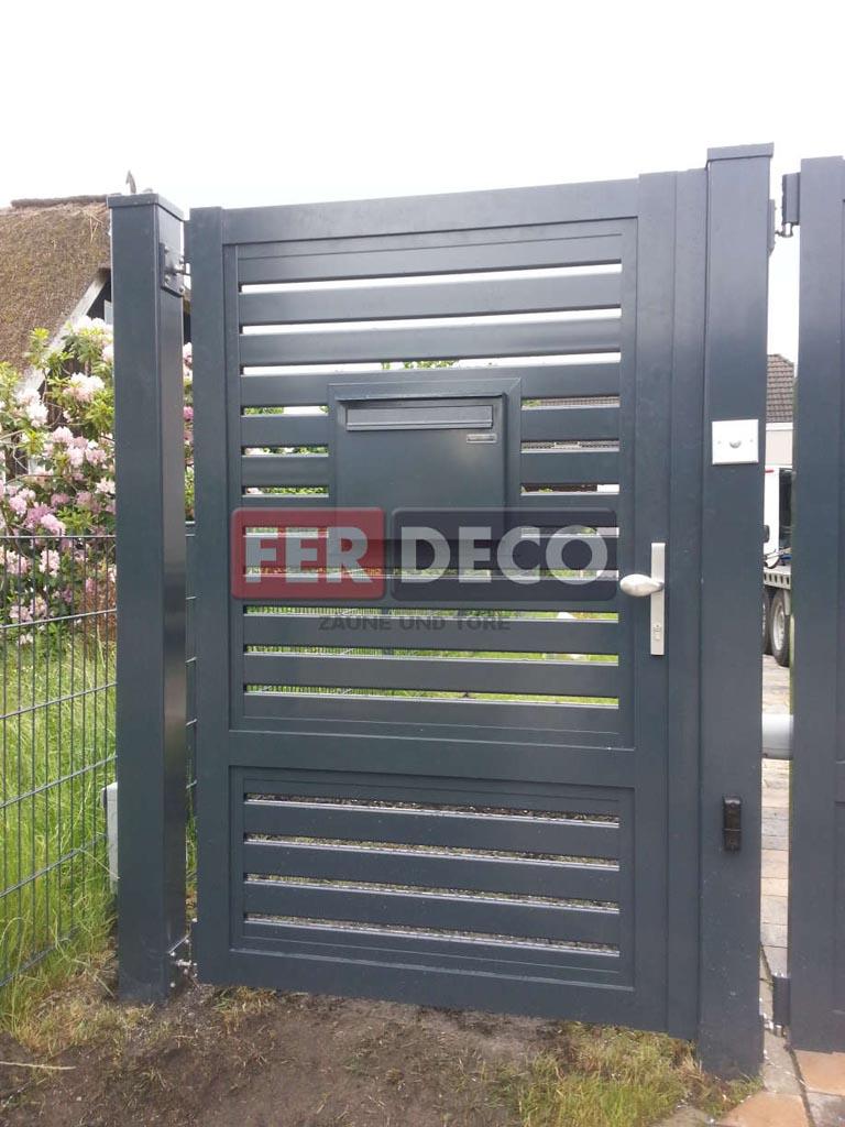 Aluminiumzaune Aus Polen Kaufen Mit Montage Ferdeco